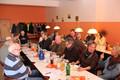 Die Versammlung beim Essen